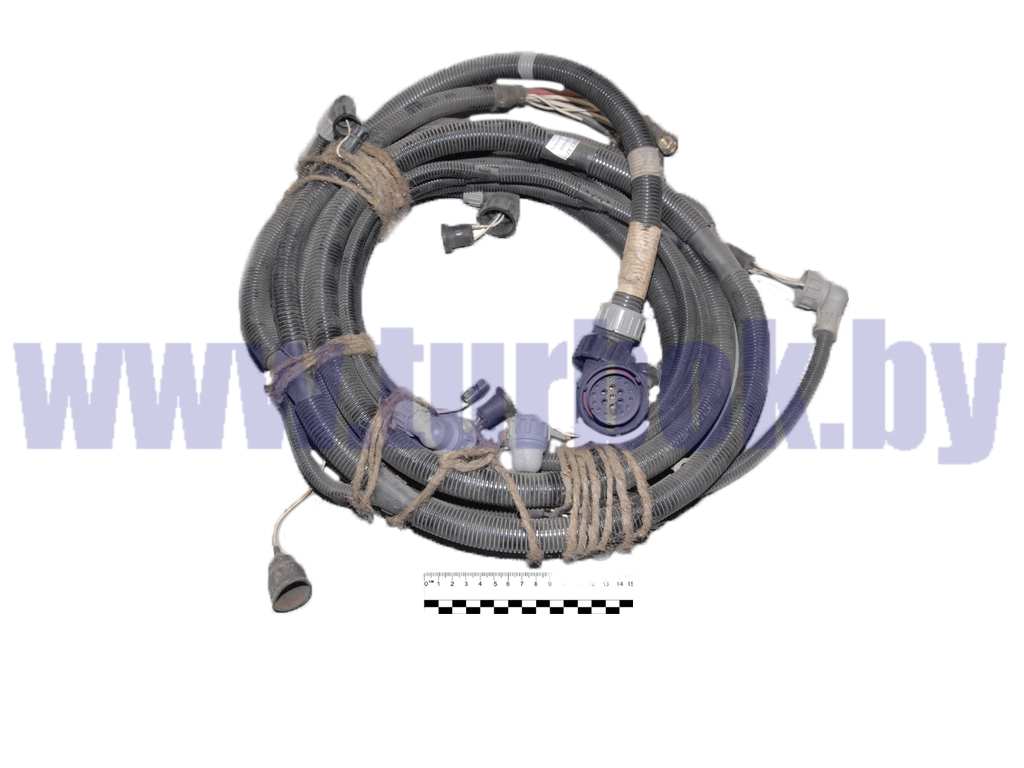 Жгут на двигатель МАЗ-МАН (кабельная линия)