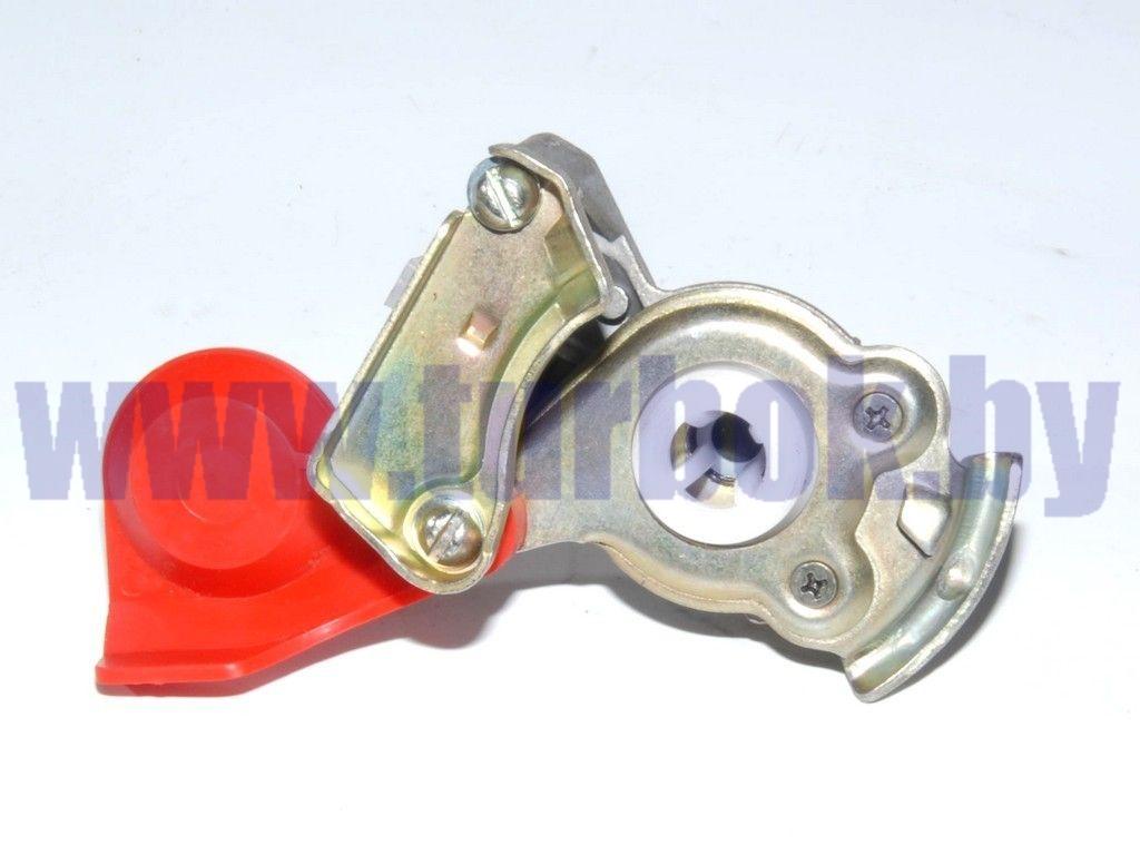 Головка соединительная М16 с клапаном красная 6022352111000