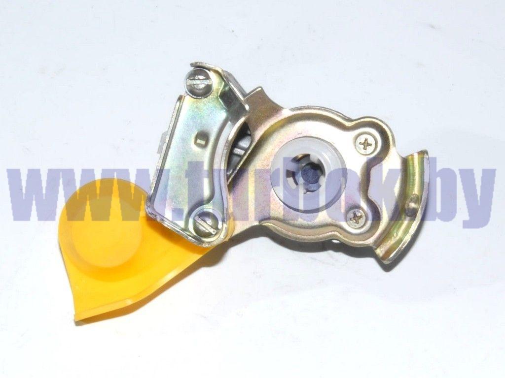 Головка соединительная М16 с клапаном жёлтая 6023352111100
