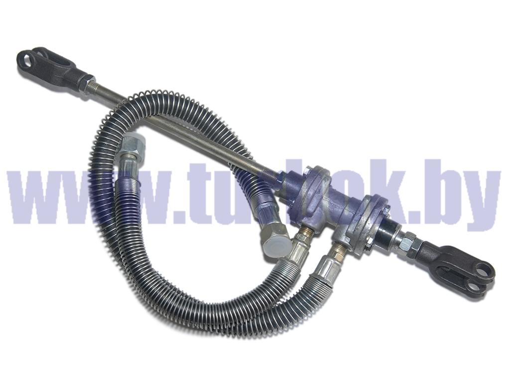 Клапан включения привода сцепления со шлангами (длина штока=240)