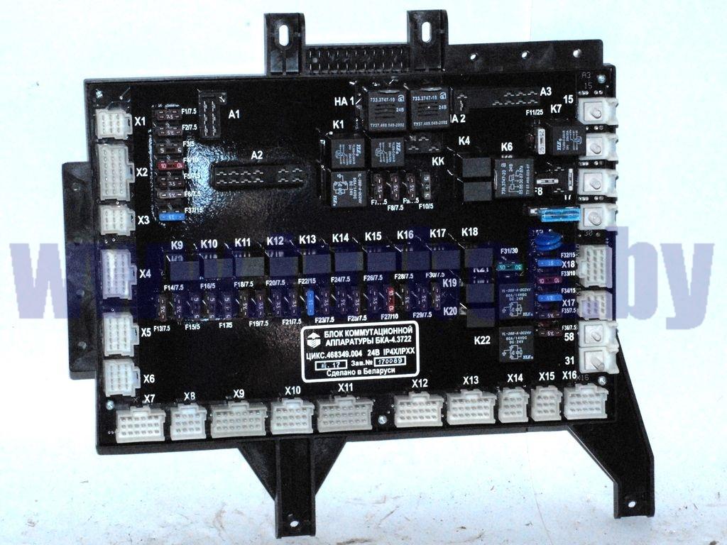 Блок монтажный МАЗ-5440А9 АГАТ