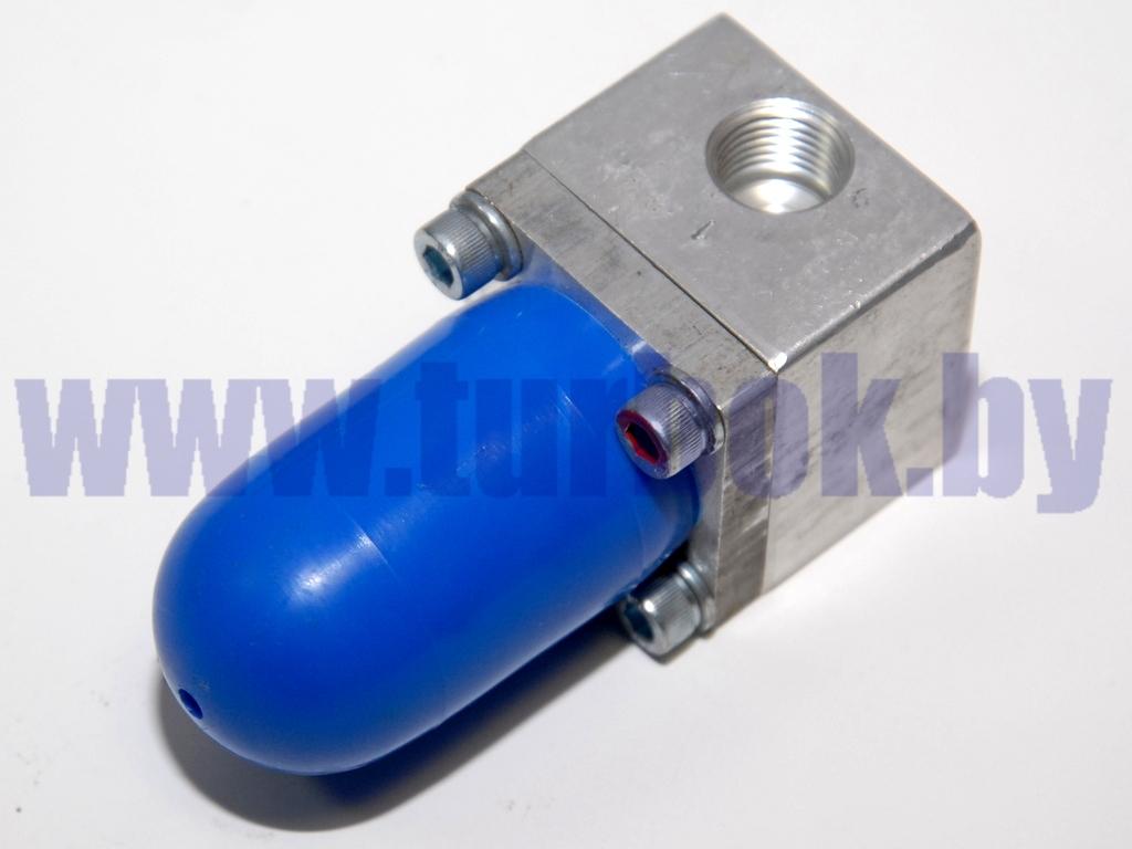 Клапан пневматический перепускной перекачки топлива