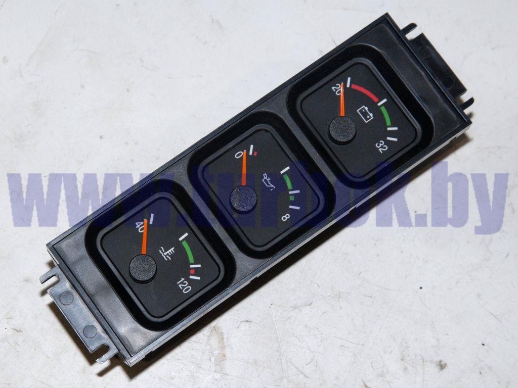 Блок (контроль: напряжения 20-32 В, давления масла 0-8 атм, температуры охладителя ДВС ЯМЗ)
