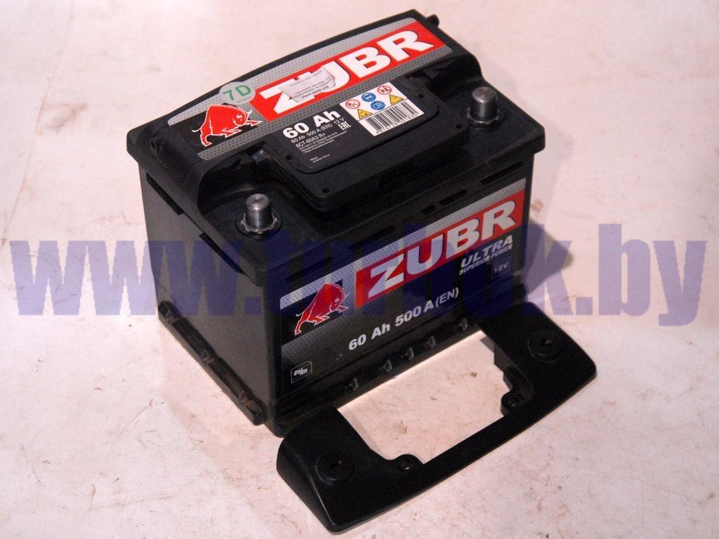 Аккумулятор заряженный 060 А/ч. обратная полярность