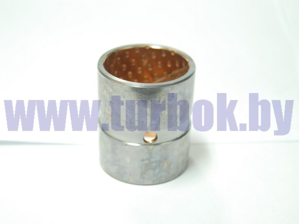 Втулка шкворня (стальная) нижняя (H=70) с бронзовым напылением