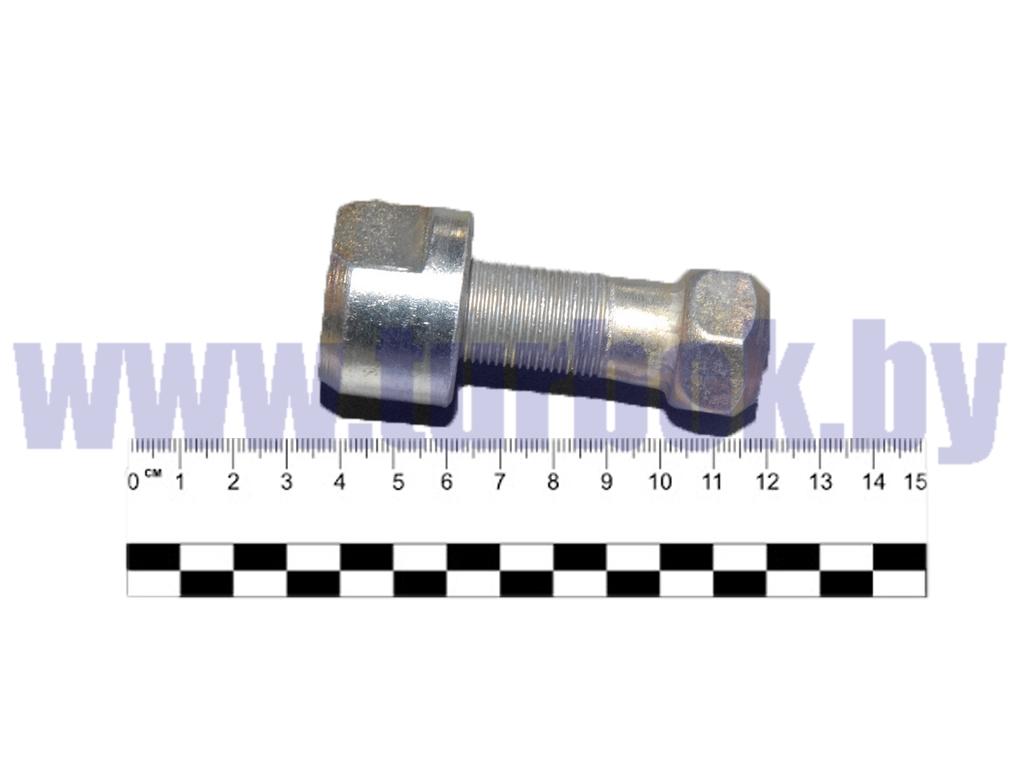 Болт М20*1.5-6h*55 ушка рессоры со втулкой