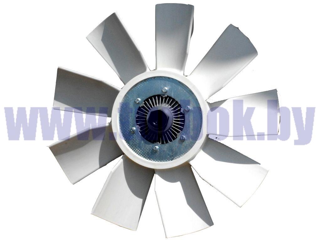 Муфта вязкостная, ЯМЗ-236, ЯМЗ-7601.Е-3, D=600/ВМПВ-001.00.02-СБ в комплекте с фланцем