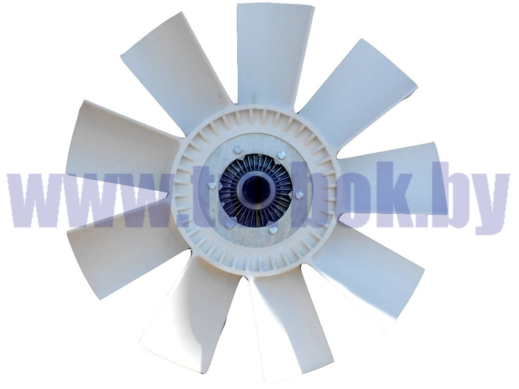 Муфта вязкостная, ЯМЗ-238, ЯМЗ-7511.10,658.10, D=660/ВМПВ-001.00.01-СБ в комплекте с фланцем