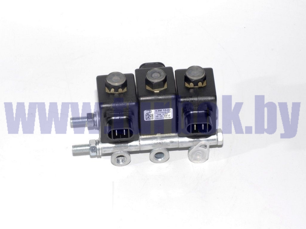 Блок электромагнитных клапанов КАМАЗ-65115 (3 шт. КЭМ-10)