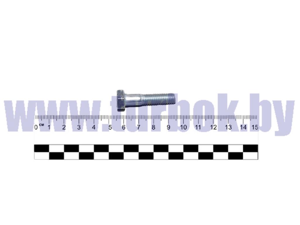 Болт М08*1.25х35 хомута тяги рулевой КАМАЗ-65115 ,650