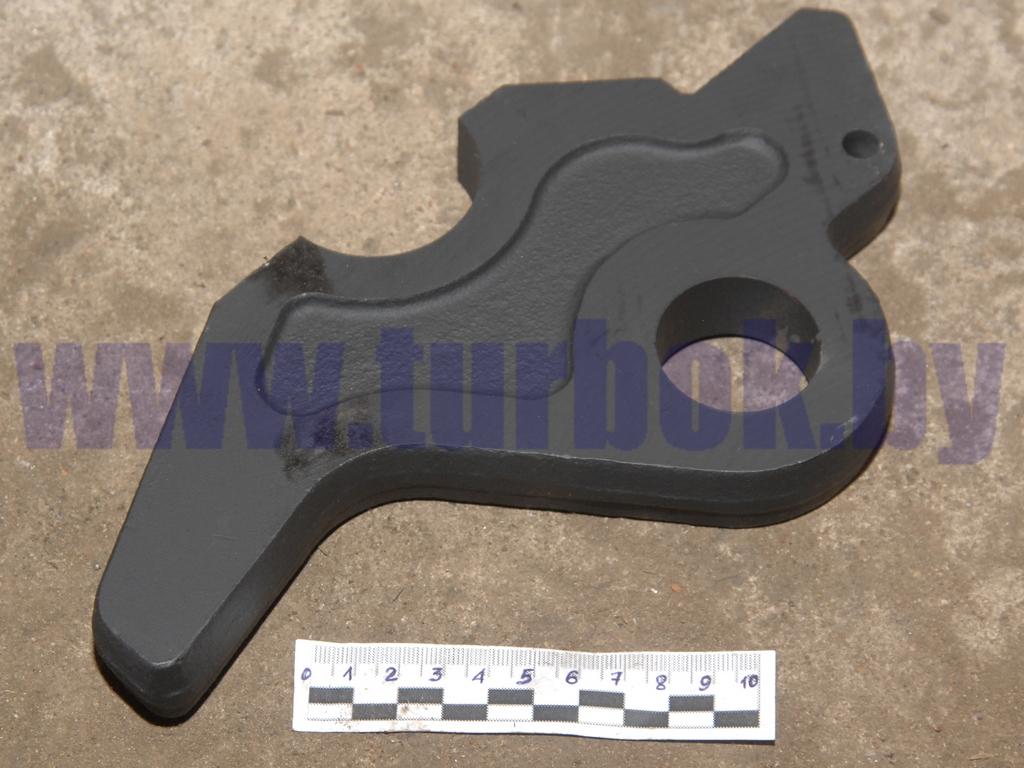 Губка седельного устройства с отверстием левая КАМАЗ-65115