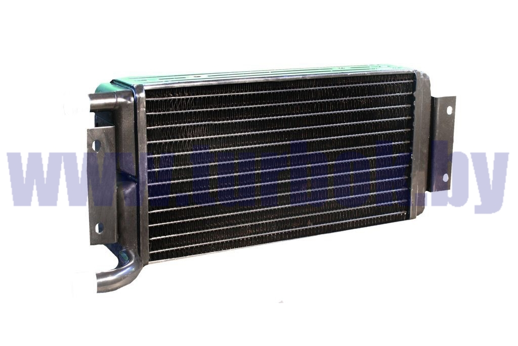 Радиатор отопителя КАМАЗ-65115. 6520 4-х ряд медно-латунный