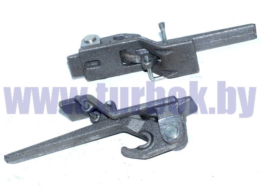 Рычаг углового запора бортов платформы КАМАЗ-65115 левый