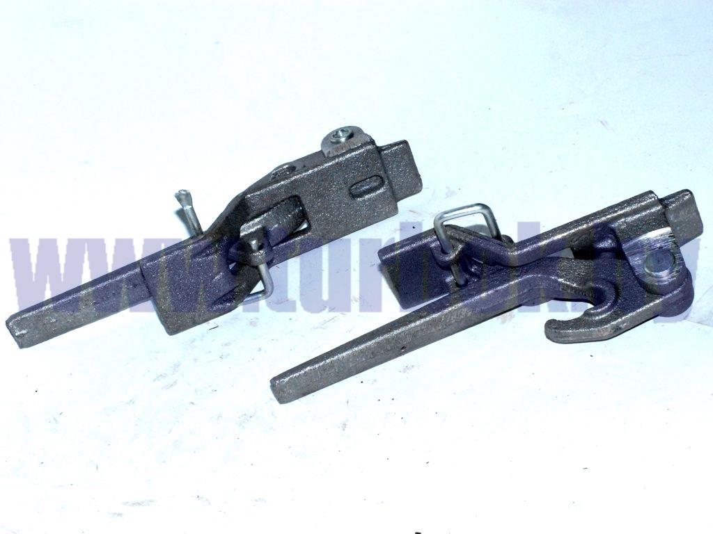 Рычаг углового запора бортов платформы КАМАЗ-65115 правый