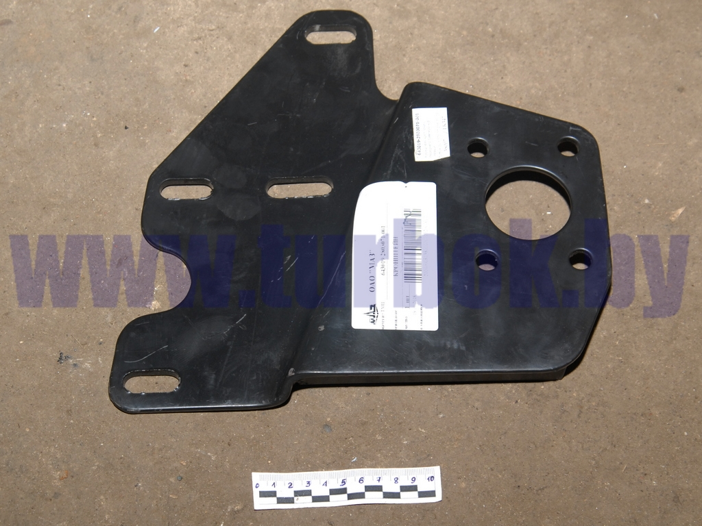 Кронштейн крепления переднего бампера н/о (левый)