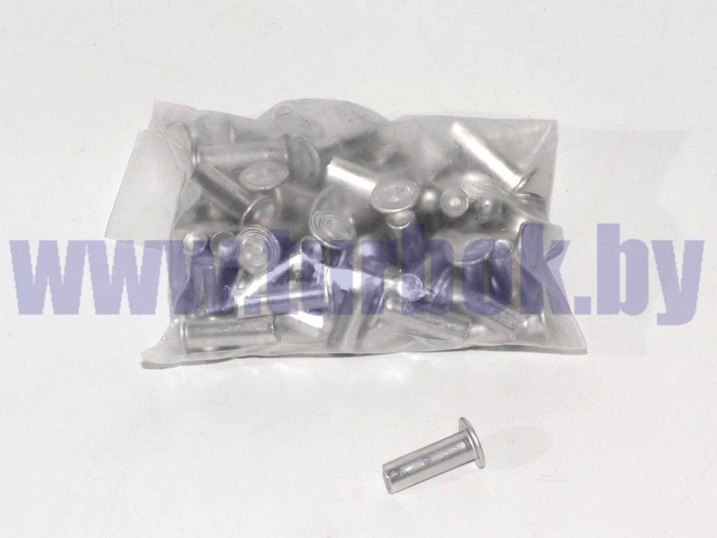 Заклёпка 08*24 алюминиевая (64 шт.) плоская набор №21
