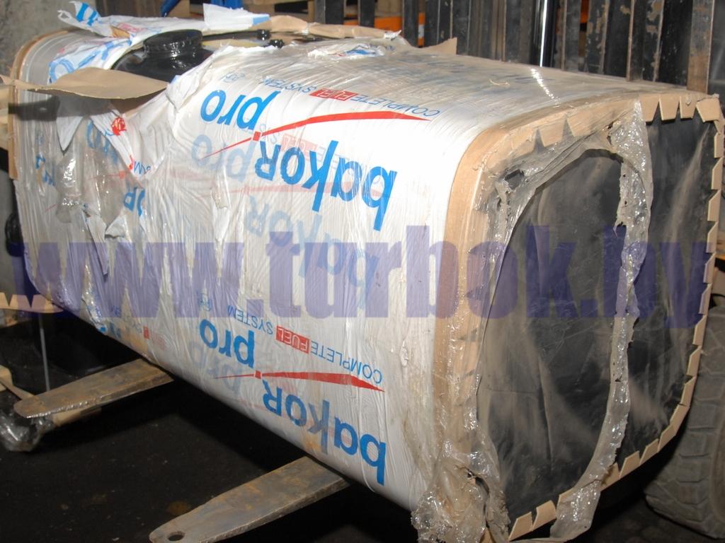 Бак топливный 500 л 650х650х1325 с раздельным топливозаборником