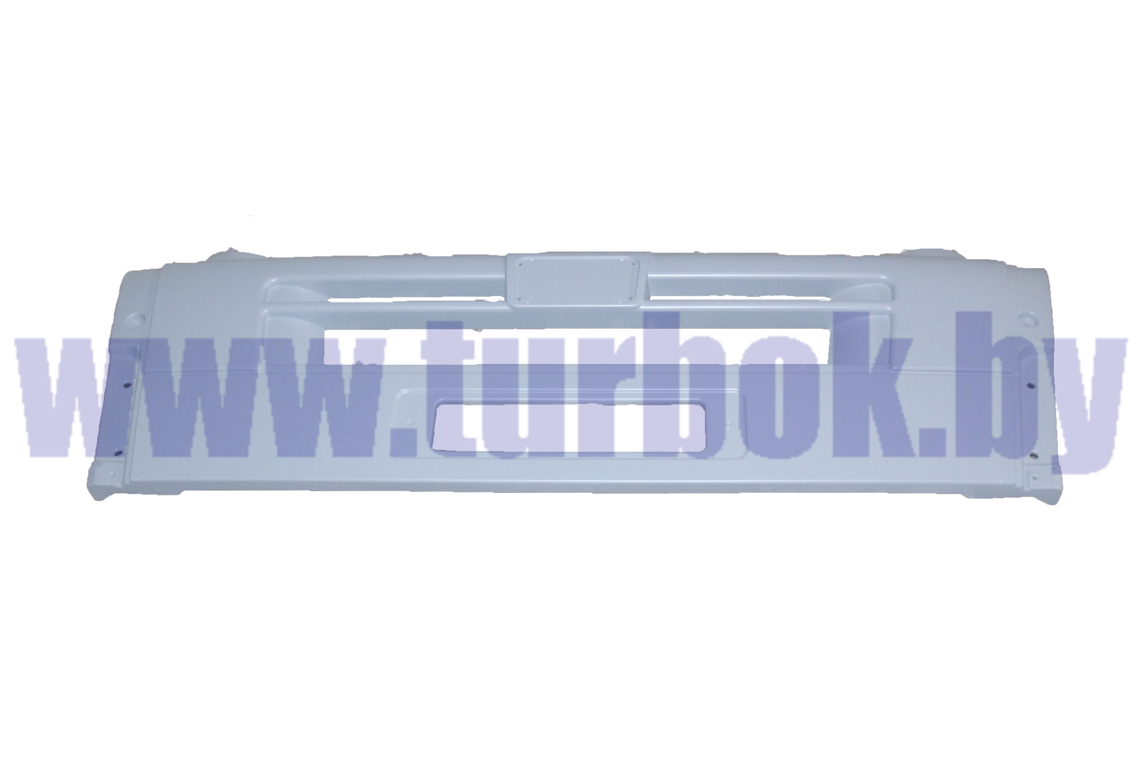 Накладка МАЗ-6431 бампера центральная (грунтованная  под покраску)