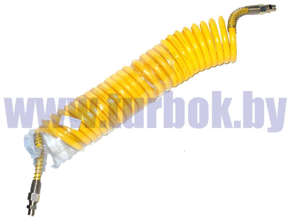 Кабель спиральный  (шланг М16*1,5 витой (L=7.5 м) жёлтый
