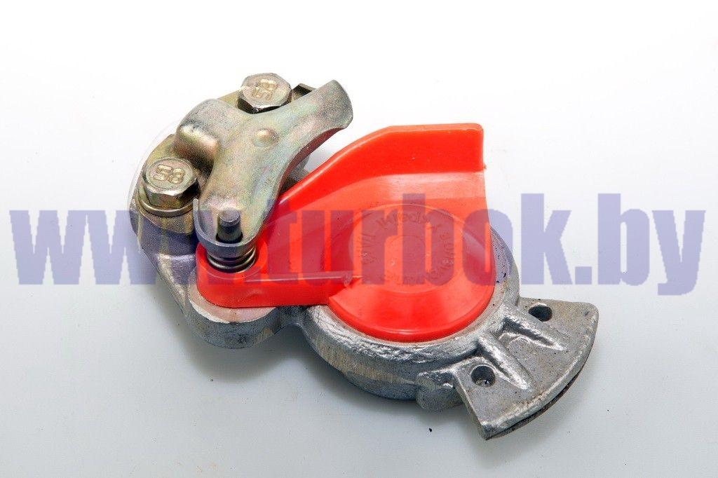 Головка соединительная М22 с клапаном красная ПААЗ--