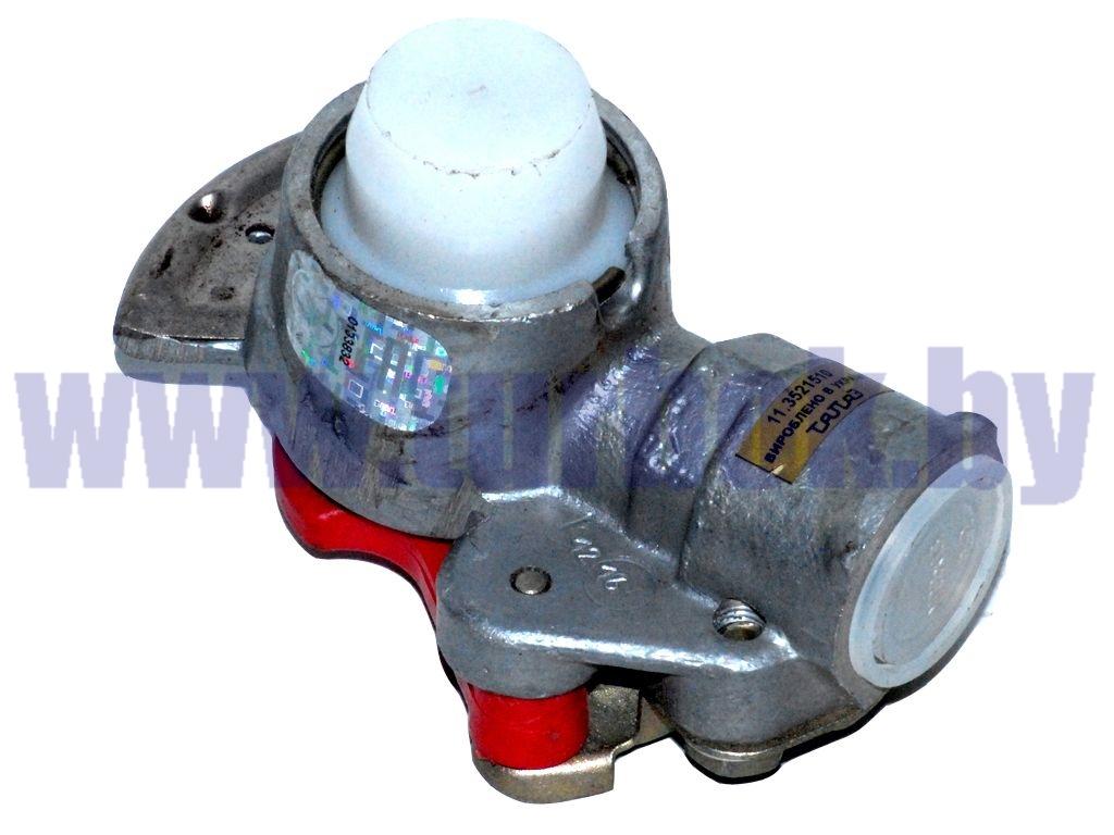 Головка соединительная М22 без клапана с фильтром красная ПААЗ