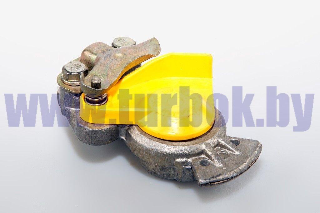 Головка соединительная М22 с клапаном жёлтая ПААЗ--