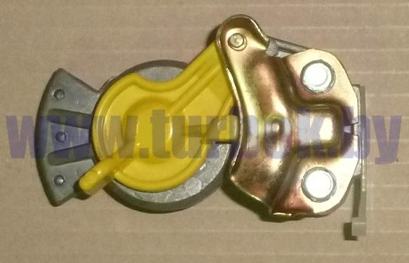 Головка соединительная М22 без клапана жёлтая РААЗ