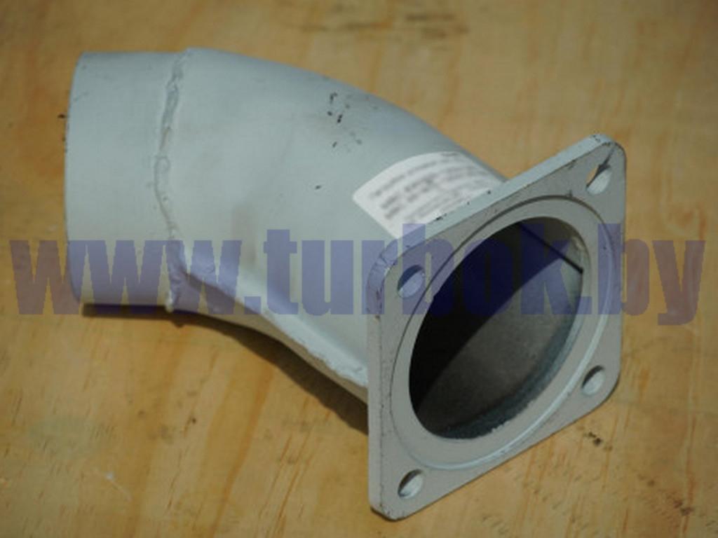 Патрубок под глушитель 630300 МАЗ-555102 под шарнирное соединение