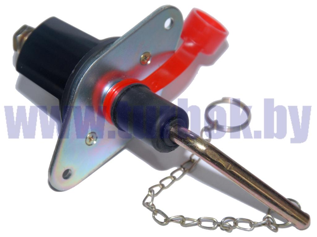 Выключатель массы механический 24В (XL-004) пластик ромб