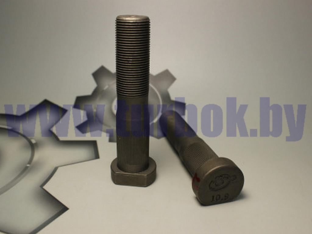 Болт ступицы (Еврошпилька L-105мм) ЛИАЗ, задняя н/обр ТЕФЛОН (низкая юбка)