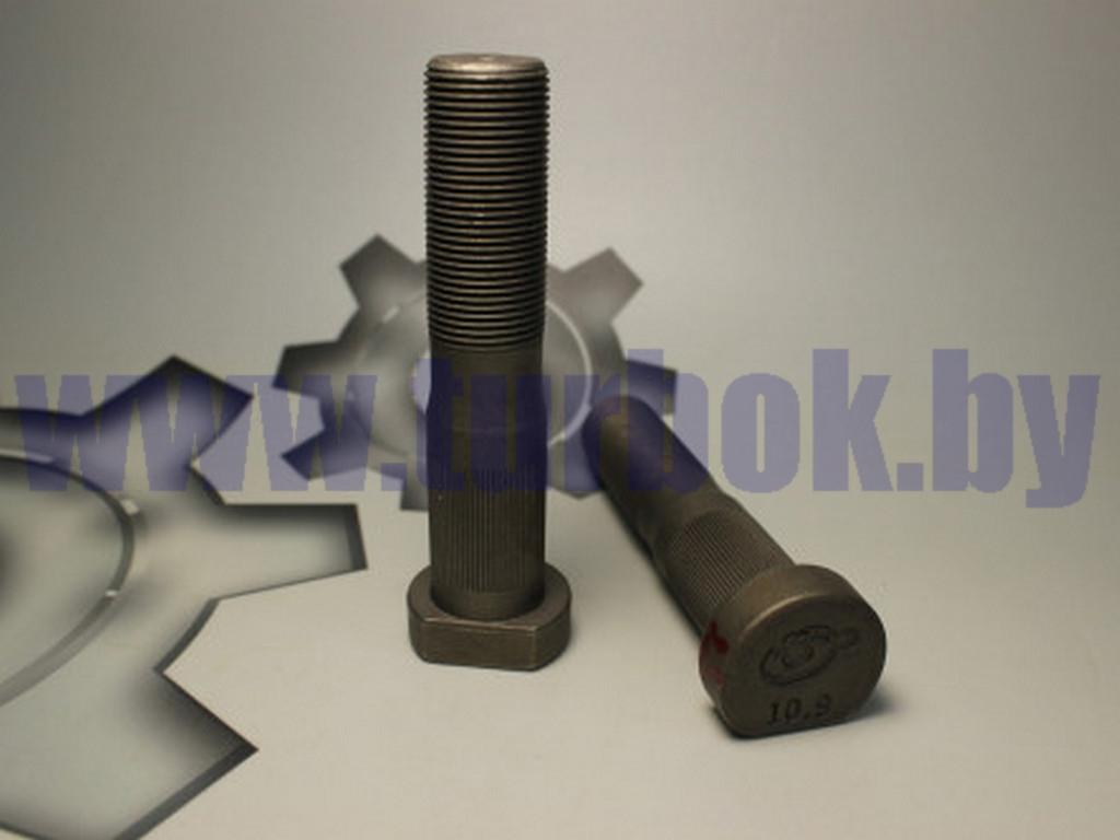 Болт ступицы (Еврошпилька L-105мм) ЛИАЗ, задняя ст/обр ТЕФЛОН (высок. юбка)
