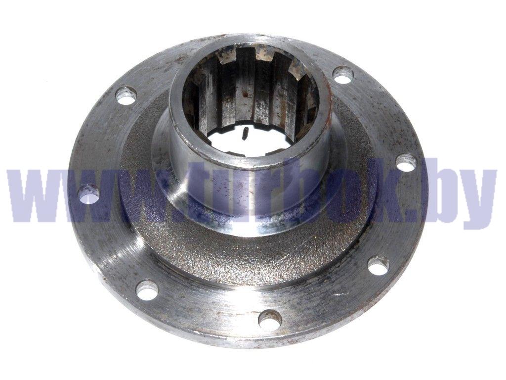 Фланец крепления вала карданного (8 отв.,М10,d=55) КПП-238А делителя
