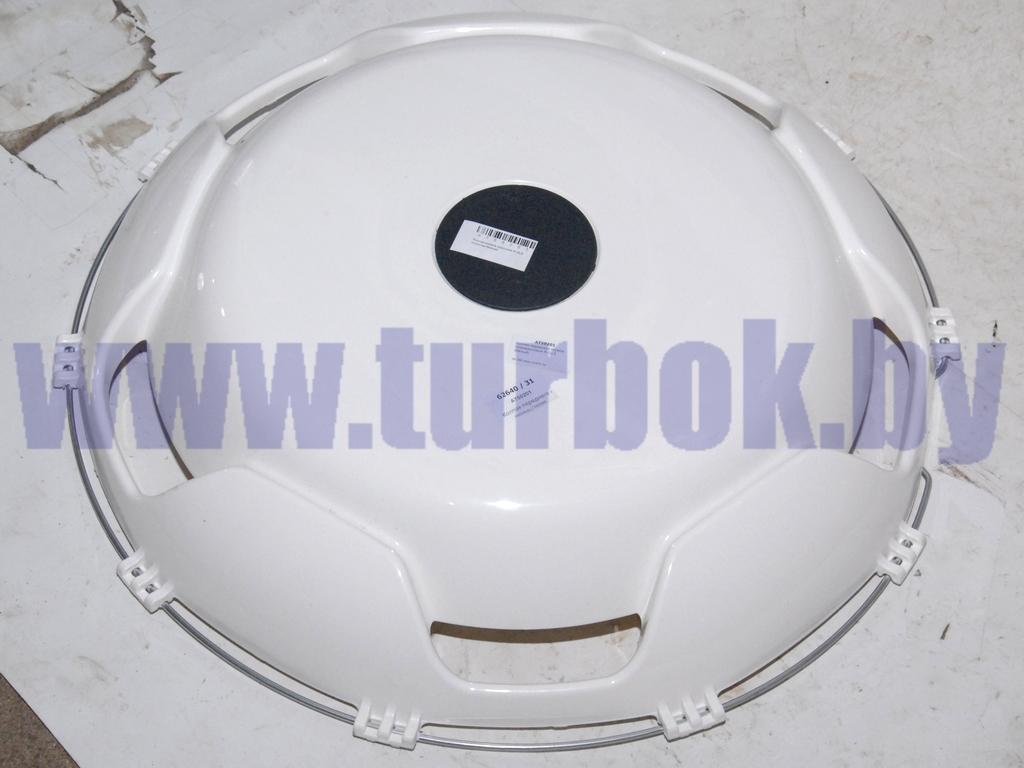 Колпак переднего колеса пласмассовый R-22,5 (белый)