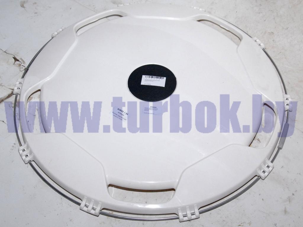 Колпак заднего колеса пласмассовый R-22,5 (белый)
