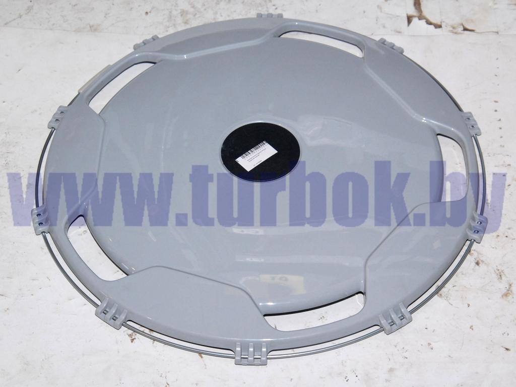 Колпак заднего колеса пласмассовый R-22,5 (серый)