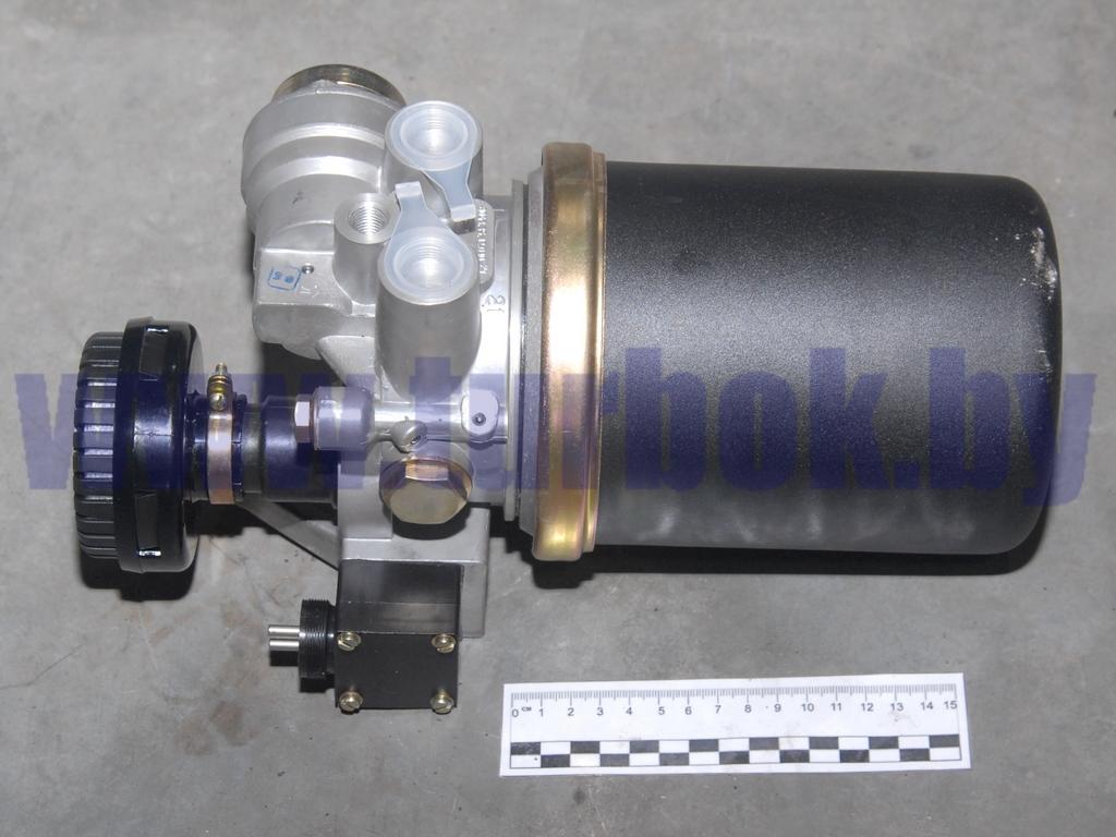 Регулятор давления воздуха с адсорбером (осушитель воздуха) выхода 4 с глушителем