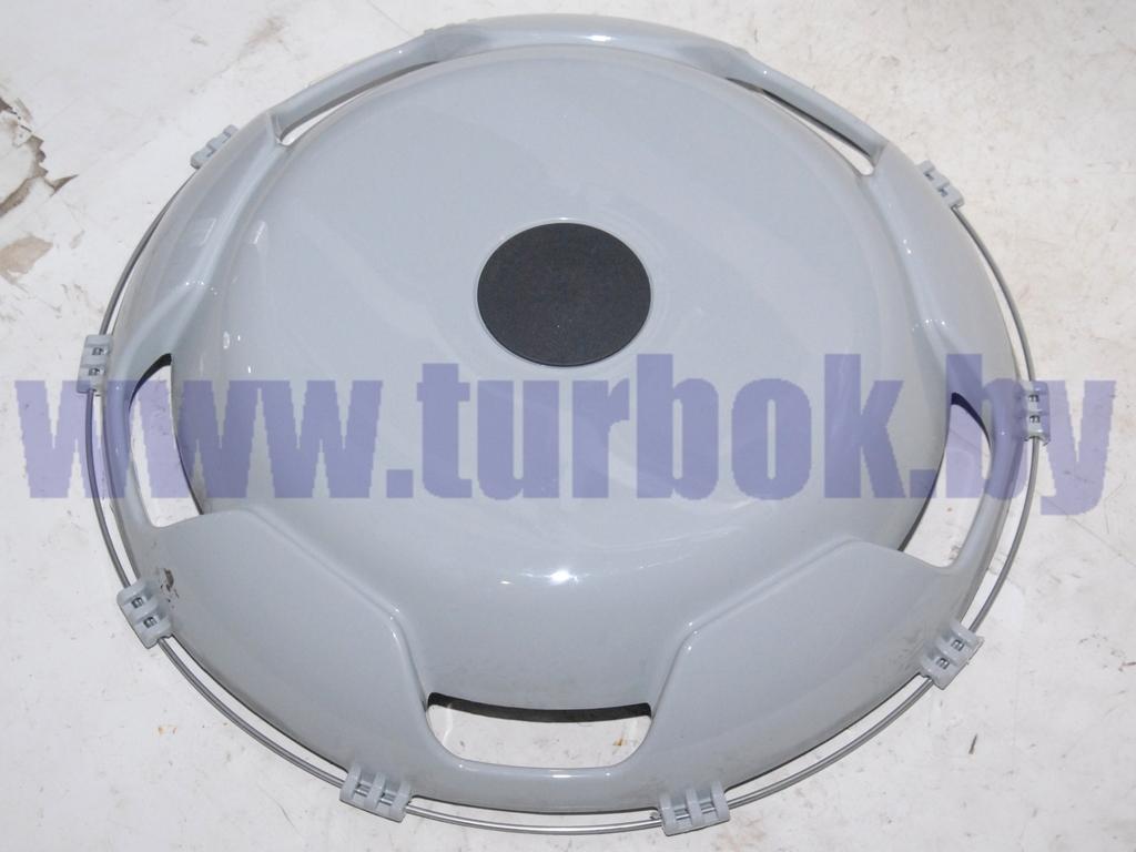 Колпак переднего колеса пласмассовый R-22,5 (пластик-серый)