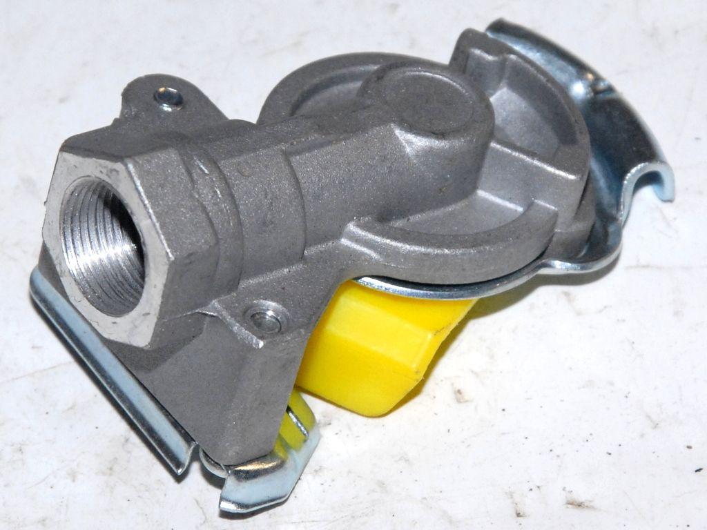 Головка соединительная комплект 2 шт. М22 жёлтая
