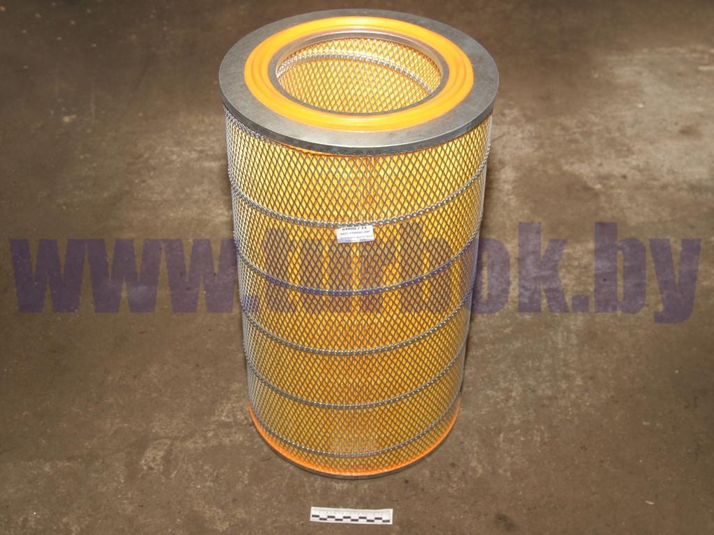 Элемент фильтрующий воздуха ДВС Mersedes МАЗ-103,-203 (527x300x178)
