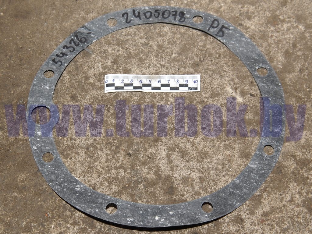 Прокладка колёсной передачи(паронит,s=0,6) евро