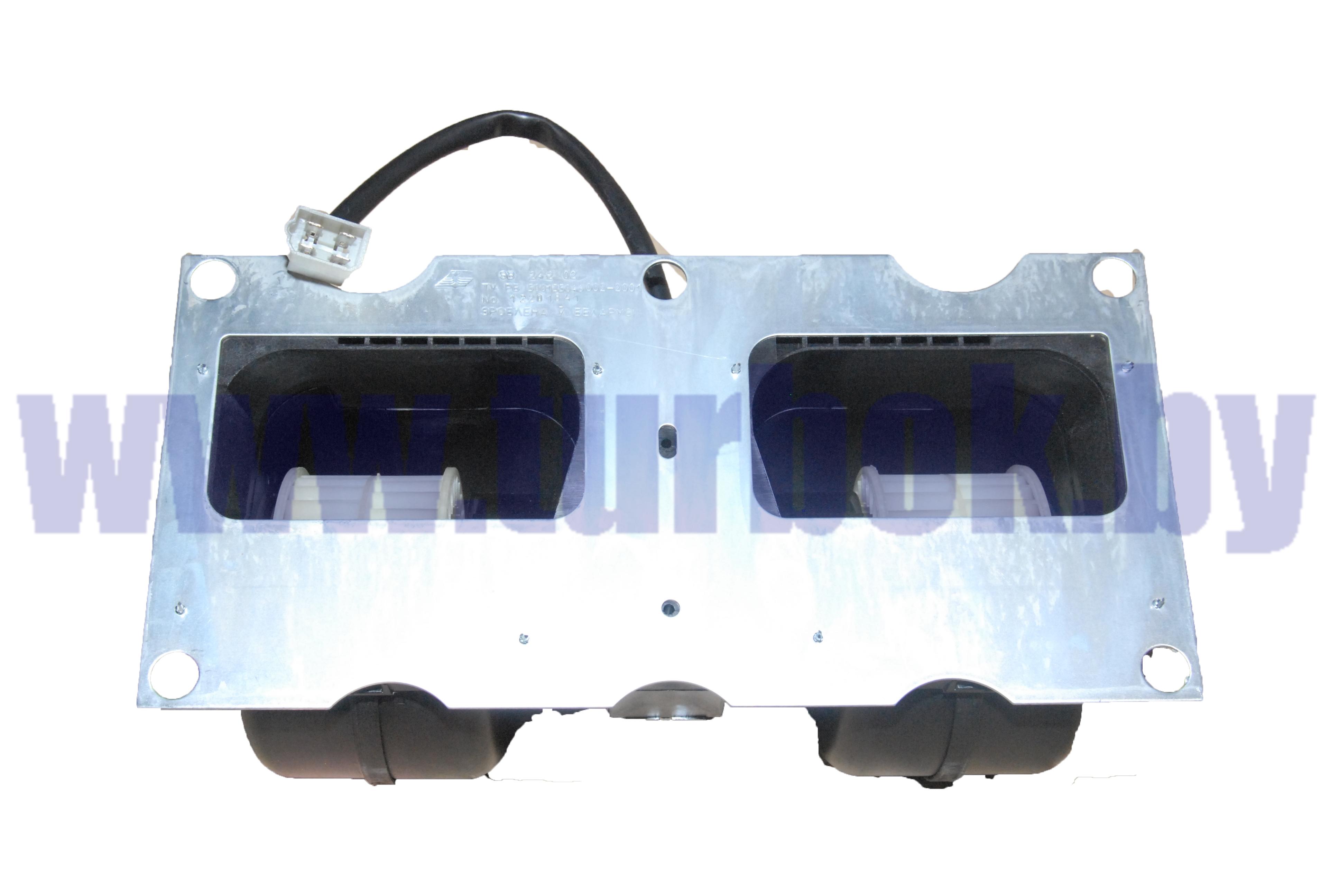 Блок вентиляторный отопителя (на 2 улитки) МАЗ-4370, 650119/ИЖКС.632546.004-01