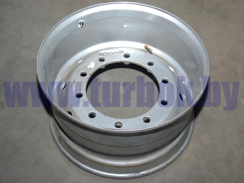 Диск колеса 11,75-22,5 без колец на односкатные полуприцепы под диск ЕТ120