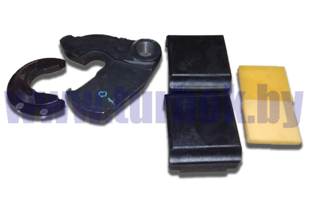 Рем.комплект седельного устройства (захват+скоба+прокладка 2 шт.+вкладыш 2шт.)