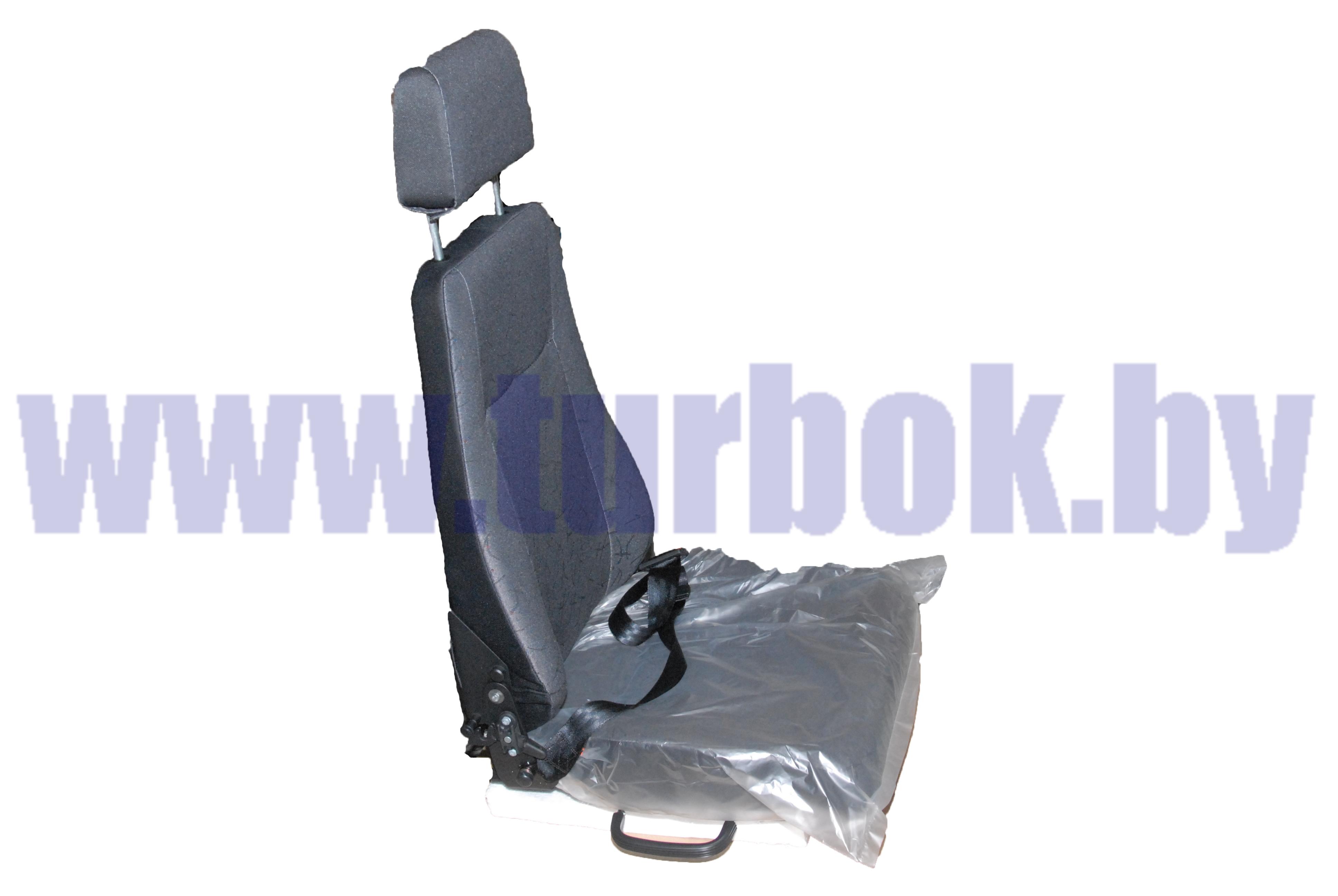 Сиденье пассажирское с ремнем