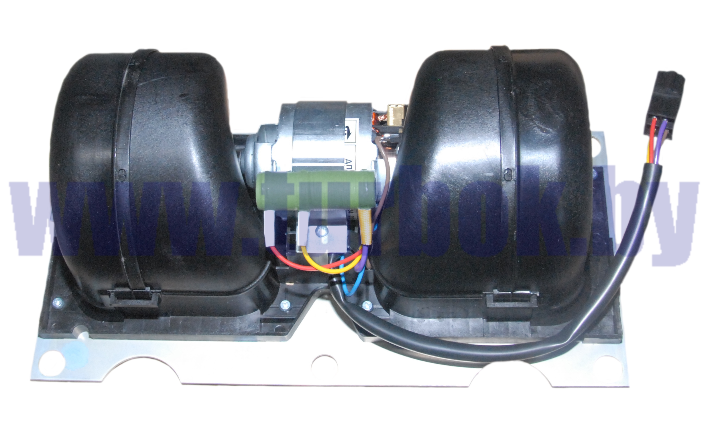 Блок вентиляторный отопителя (на 2 улитки) МАЗ-4370, 650119/ИЖКС.632546.004-04